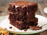 Рецепта Сладкиш брауни с кафе и шоколад